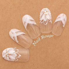 Bride Nails, Wedding Nails, Gel Nail Art, Gel Nails, S And S Nails, Japanese Nails, Stylish Nails, Perfect Nails, Nail Arts