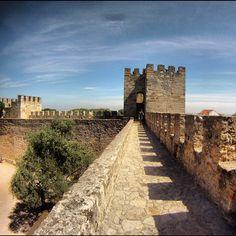 Castelo de São Jorge in Lisboa 9h00 às 21h00 4 euro for student
