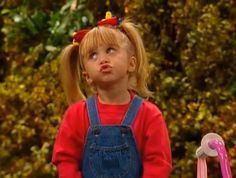 In Character: Michelle Tanner. So cute. You haven't lived if you don't know who the Tanners are...