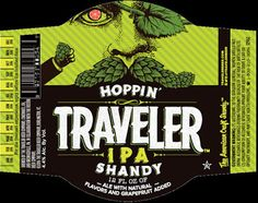 mybeerbuzz.com - Bringing Good Beers & Good People Together...: Traveler Beer - Hoppin' Traveler IPA Shandy