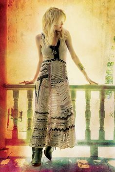 This is all kinds of awesome! gypsy look. fashion.