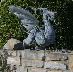 Phoenix Forge - Dragon Sculpture-Hand made | Buy British