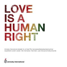 Love Is A Human Right by jakobhelmer, via Flickr