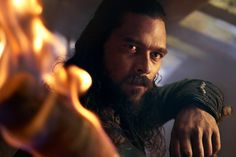 Luke Arnold as John Silver, season 4 Black Sails