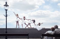 Von Wong shoots Ballerinas of the National Slovak Theatre by taking them on to the streets of Bratislava.