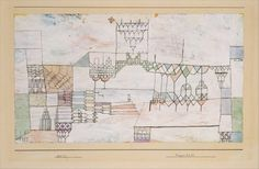 Great Hall for Singers, 1930 - Paul Klee