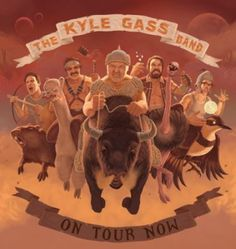 The Kyle Gass Band in september in Antwerpen