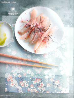 sashimi de daurade
