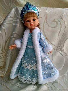 Снегурочка Paola Reina в аутфите ручной работы / Игровые куклы / Шопик. Продать купить куклу / Бэйбики. Куклы фото. Одежда для кукол