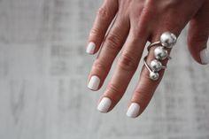 Silver Ring-Bohemian Jewelry-Bohemian Ring-Boho by GypsyandGypsy