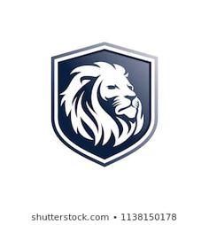 Little lion school logo template Vector Lion Profile, Profile Logo, Leon Logo, Logo Lion, Art And Illustration, Wall Logo, Fashion Logo Design, Lion Art, Animal Logo