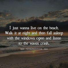 Life quotes & inspiration : just nothing like the beach and ocean to Ocean Beach, Beach Bum, Beach Walk, Summer Beach, Ocean Waves, Beach At Night, Sunny Beach, Summer Days, Ko Samui