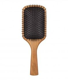 Aveda Wooden Paddle Brush: For girls with long, thick hair, a paddle brush—like this one—will cut styling time in half. The wide surface of the brush covers large sections, while the flat shape helps to straighten strands without pulling at them.