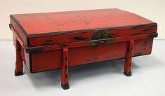 Garment box  Period: Edo period (1615–1868) Culture: Japan Medium: Lacquer and bronze Dimensions: H. 11 5/8 in. (29.5 cm); W. 29 1/8 in. (74 cm); D. 17 1/2 in. (44.5cm)