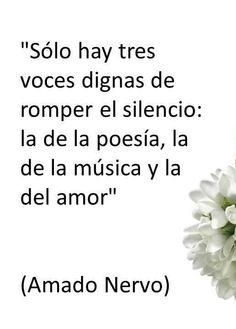 Amado Nervo...
