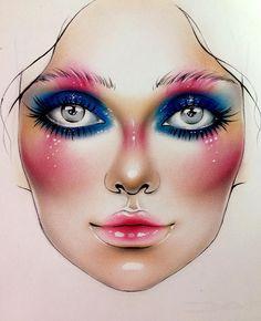 "7,196 Likes, 46 Comments - Sergey X (@milk1422) on Instagram: ""#artist@milk1412 #mylove #myart #myartistcommunity #myartistcommunityrussia #makeup #makeupart…"""