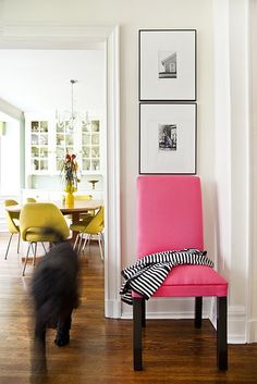 Just wish my husband did as well. If he did, I'd have this in my living room :) Pink Accent Chair, Accent Chairs, Pink Sofa, My Living Room, Living Spaces, Cabana, Toddler Table And Chairs, Parsons Chairs, Lounge