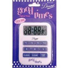 Diane Good Time Digital Timer #D8050 $4.49  Visit www.BarberSalon.com One stop shopping for Professional Barber Supplies, Salon Supplies, Hair & Wigs, Professional Product. GUARANTEE LOW PRICES!!! #barbersupply #barbersupplies #salonsupply #salonsupplies #beautysupply #beautysupplies #barber #salon #hair #wig #deals #Diane #GoodTime #Digital #Timer #D8050