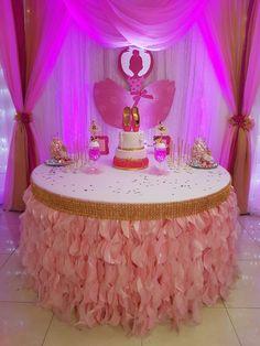 Cake table.. My little Ballerina...💖