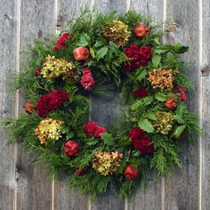 Victorian Holiday Wreath. $119.00, via Etsy.