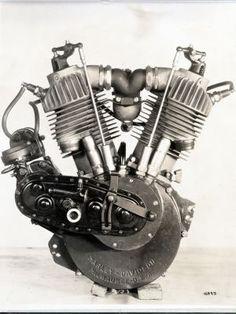 Harley Davidson F-Head Engine... 1911-1929