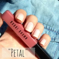 Perfect, long lasting, neutral color for your everyday look! #BobbiBrown #Petal