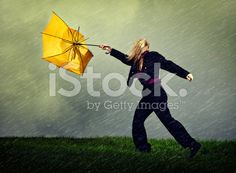asian woman struggling with an umbrella - Google Search