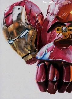 Shooting Iron Man - Colour drawing by *Vermeerschdrawings on deviantART Marvel Comics Art, Marvel Vs, Marvel Heroes, Captain Marvel, Iron Man Wallpaper, Marvel Wallpaper, Comic Books Art, Comic Art, Comic Pics