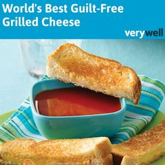 Think there's no place for a gooey grilled cheese sandwich in your life if you're counting calories? Guess again. This recipe makes smart substitutions to lighten up the traditional heavy grilled cheese sandwich.