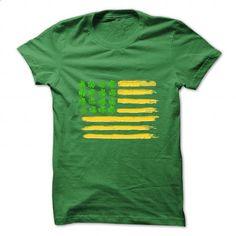 St PATRICKS DAY SHIRT - IRISh American - Irish Shirt American Flag - Green & Gold - #teen #design tshirts. ORDER HERE => https://www.sunfrog.com/St-Patricks/St-PATRICKS-DAY-SHIRT--IRISh-American--Irish-Shirt-American-Flag--Green-amp-Gold.html?60505
