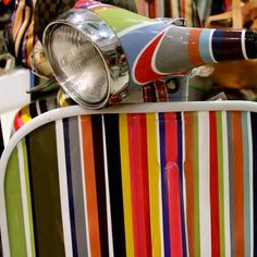 This Paul Smith Vespa is so groovy!