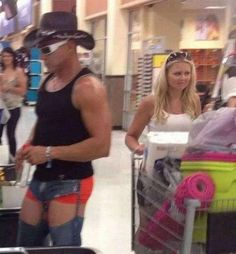 A tribute to the hilarious People of Walmart who frequent America's melting pot. Check out the 40 creepy people of Walmart Photos that are on another level.