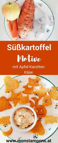 Süßkartoffel Snack, Süßkartoffeln anbraten, gesunder Snack für Kinder, sweet potato snack