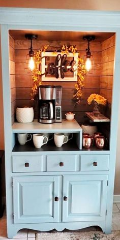 Furniture Makeovers With Old Dressers That Are Antiques, Junk or Cheap Thrift Store Finds Repurposed Furniture, Home Furniture, Furniture Ideas, Furniture Makeover, Hutch Makeover, Old Chest, Sweet Home, Old Dressers, House Windows
