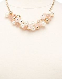Bead Cluster Short Necklace at Charlotte Russe