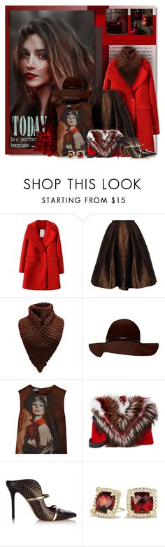 """Perfect Fall Day..."" by petri5 ❤ liked on Polyvore featuring Prada, Elena Ghisellini, Malone Souliers and David Yurman"