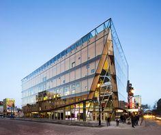 Quartier de Spectacles, Montreal, Canada.