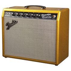 Fender '65 Princeton Reverb 15w 1x10 Combo FSR Sparkle Gold w/Celestion Alnico Gold - Chicago Music Exchange