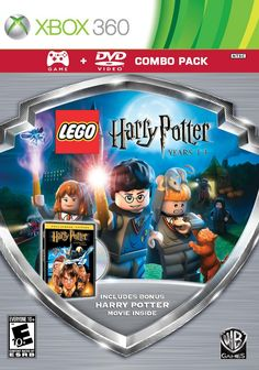 Lego Harry Potter: Years 1-4 - Silver Shield Combo Pac Harry Potter Magic, Harry Potter Movies, T Games, Games For Kids, Lego Hogwarts, Video Games Xbox, Ps3 Lego Games, Lego Videos, Fire Fans