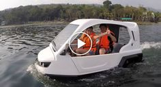 This Proudly Pinoy Made Amphibious Tricycle Can Conquer Both Land and Water!