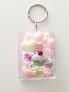 Super Kawaii decoden Whipped cream cupcake frame by XsorizeUrself,