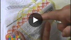 Aprenda a fazer um lindo bordado com nossa artista Leila Jacob.