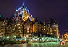 Chateau Frontenac in Old Quebec.