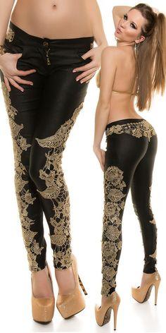 Pantalon femme fashion GERALDINE couleur noir – Tendance Fashion boutique en ligne de vêtements, chaussures et accessoires de Mode au style sexy et fashion, toute la mode est sur www.tendancefashion.fr