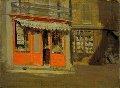 Walter Sickert - The Red Shop (The October Sun) 1888
