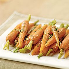 Steamed Carrots with Garlic-Ginger Butter | MyRecipes.com