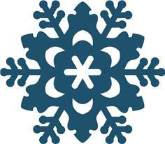 Silhouette Online Store - View Design #23130: snowflake