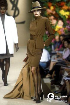 Yves Saint Laurent, Autumn-Winter 1996, Couture  www.vintageclothin.com