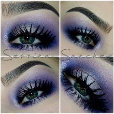 Shimmer Purple Smokey  @serrinaangel