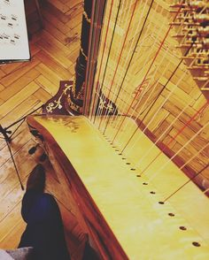 A Harpist's View! I never post pictures of my beautiful harp Marianne a lovely #Camac #Elysee instrument in #rosewood and #gold... But here it is mid-teaching students young and old.  @labellegrenouille #harp #harpist #music #musician #teaching #strings #perform #playing #sheetmusic #instrument #musiciansview #wood #vintage #golden #boots #shelfie #oxford #lmhoxford #pedalharp #studentlife #teach #learn #knowledge #inspire by ellenannedavies